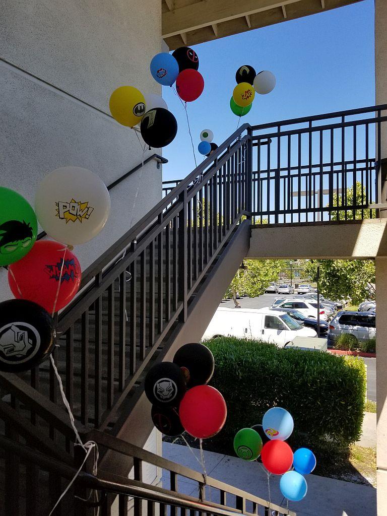 Follow the Ballons