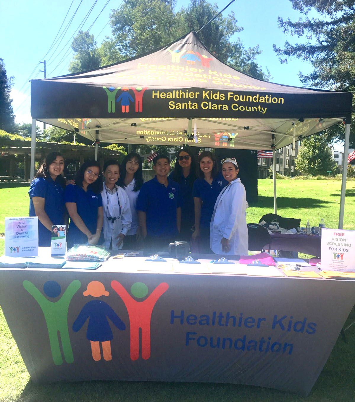 Dr Tracy Filler with Healthier Kids Foundation